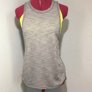 Lululemon tank top with attached sports bra